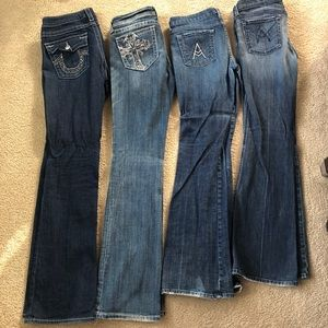 4 Pairs of Designer Denim Bundle Size 29